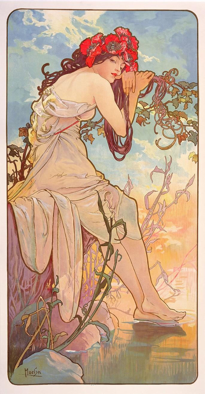 les saisons - l'été 1896